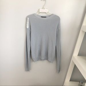 Sweaters - brandy melville blue knit sweater